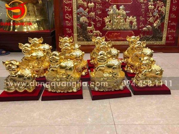 Đồ đồng mạ vàng cao cấp – Biểu tượng cho sự sang trọng, quyền lực