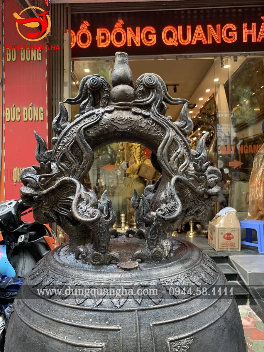 Thần thú Bồ Lao trên quai chuông