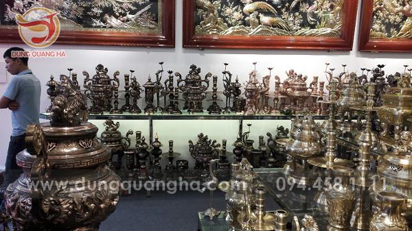 Địa chỉ mua đồ đồng chất lượng tại Hà Nội – Dung Quang Hà