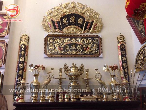 đồ thờ bằng đồng cao cấp