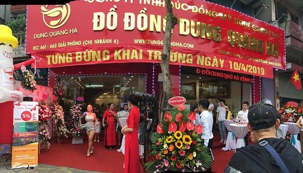 Khai trương showroom Dung Quang Hà – Uy tín làm nên thương hiệu đồ đồng mỹ nghệ cao cấp