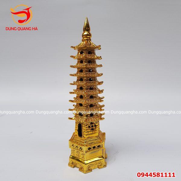 Tháp Văn Xương bằng đồng mạ vàng đẹp tinh xảo