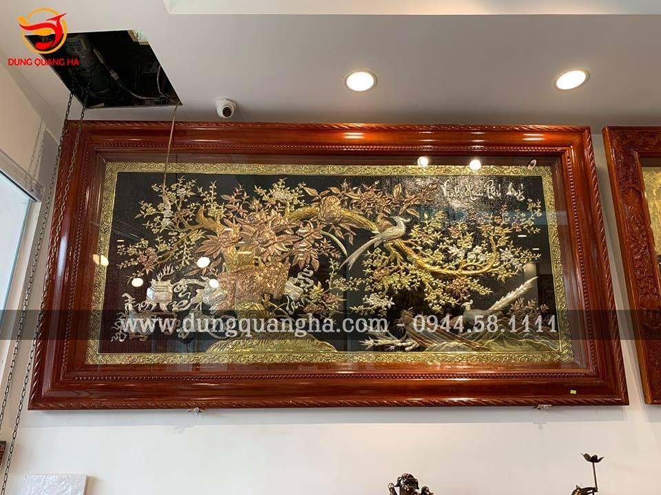 Tranh Phong thủy bằng đồng đẹp nhất 2019