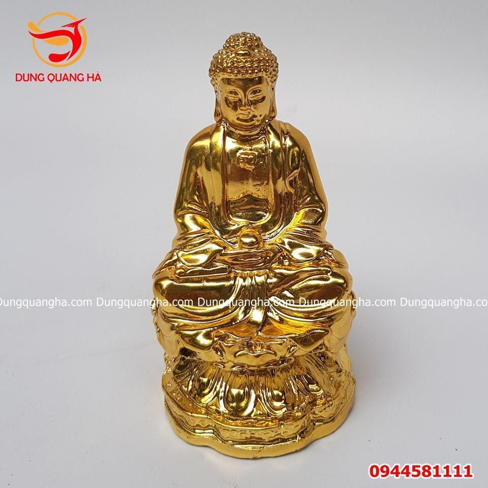 Tượng Phật A Di Đà để xe ô tô