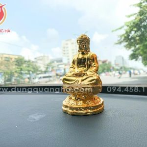 Tượng Phật A Di Đà mạ vàng để xe ô tô