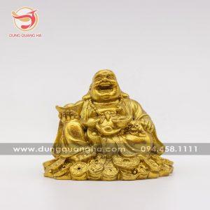 Tượng Phật Di Lặc ngồi trên tiền ý nghĩa