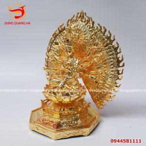 Tượng Phật Thiên Thủ Thiên Nhãn bằng đồng