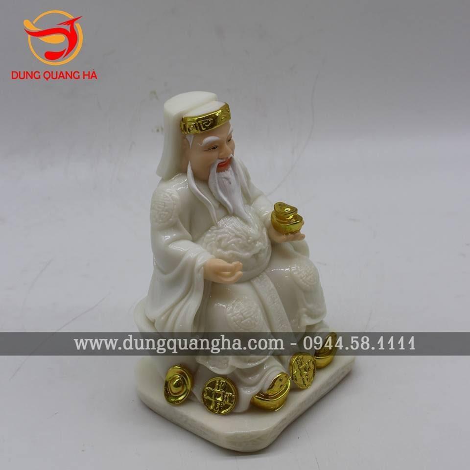 Tượng Thần Tài Thổ Địa dát vàng 9999 cao cấp