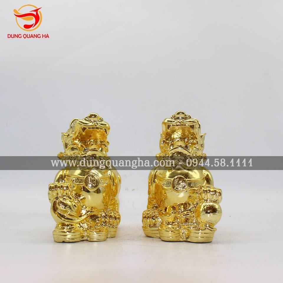 Tỳ hưu vàng - Linh vật phong thủy độc đáo