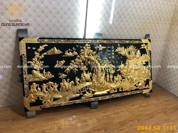 Dát vàng 9999 tranh vinh quy bái tổ