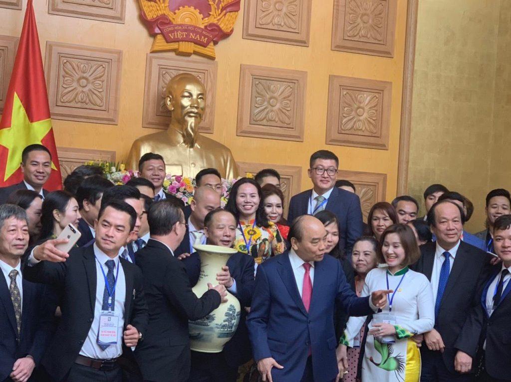 Đồ đồng Dung Quang Hà nhận bằng khen Thủ Tướng Chính Phủ
