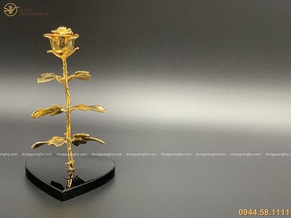 Hoa hồng mạ vàng 24k làm quà tặng, quà lưu niệm