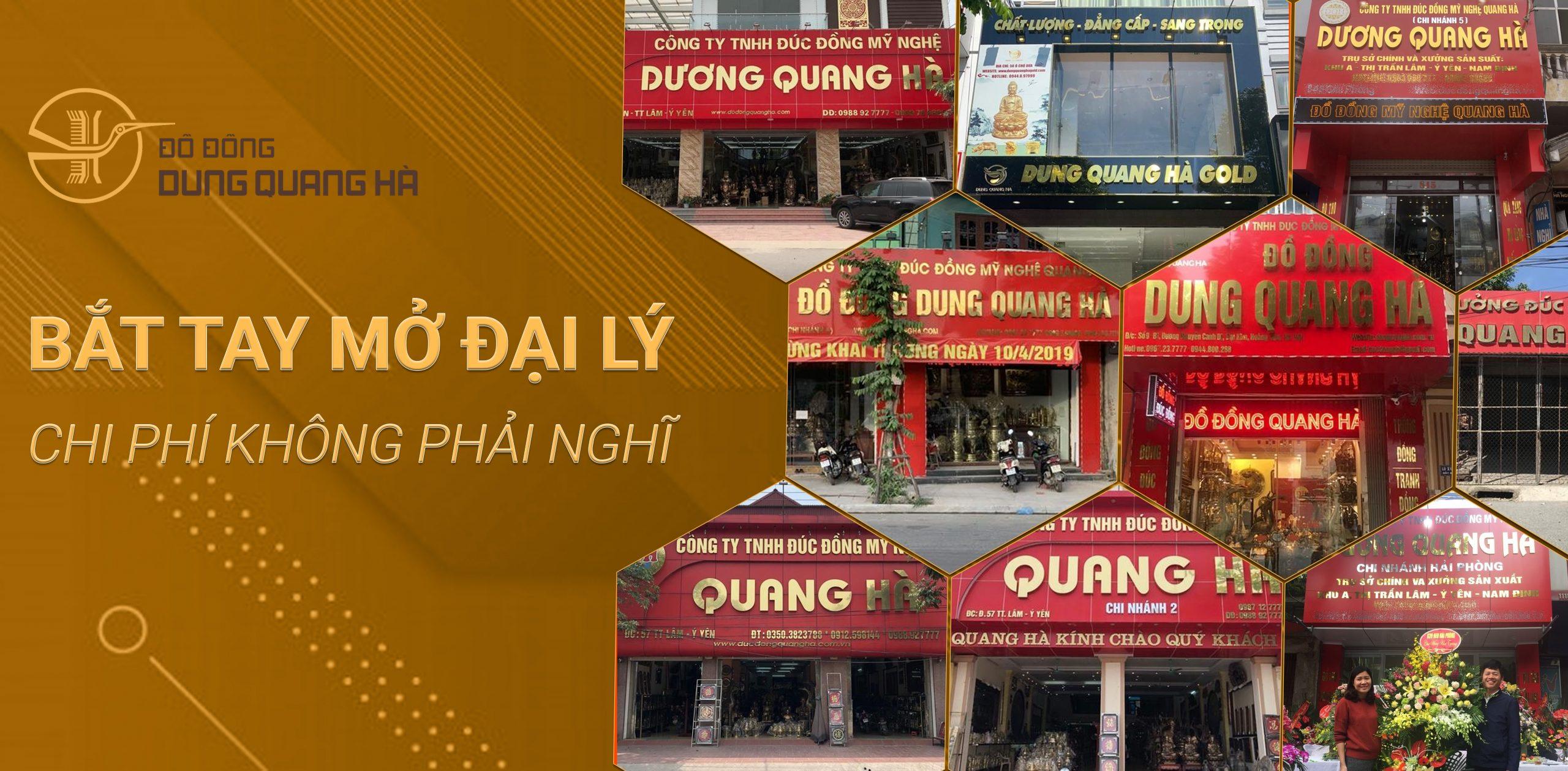 Mở đại lý bán hàng Đồ Đồng Dung Quang Hà