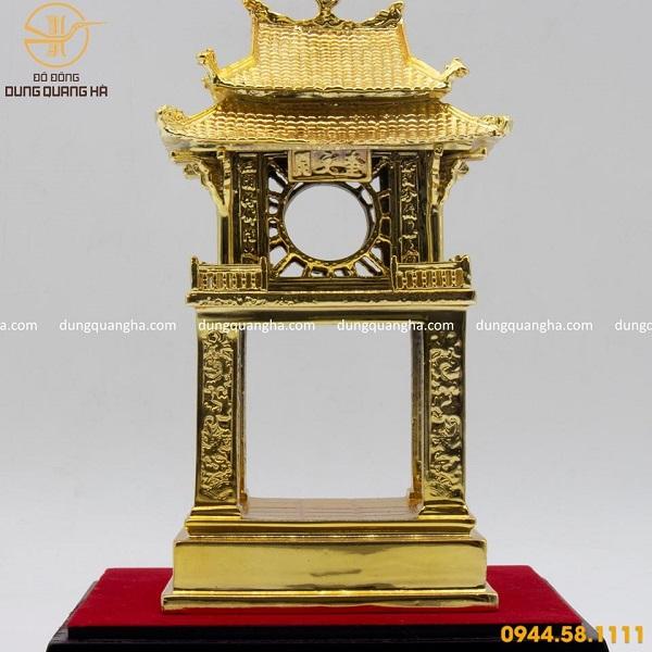 Mô hình Khuê Văn Các mạ vàng 24k thiết kế ấn tượng
