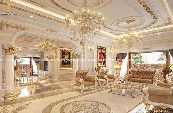Dát vàng nội thất