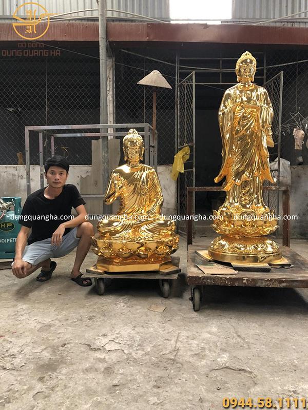 Dát vàng tượng phật