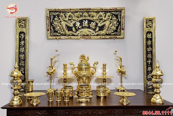 Đồ thờ bằng đồng giá rẻ