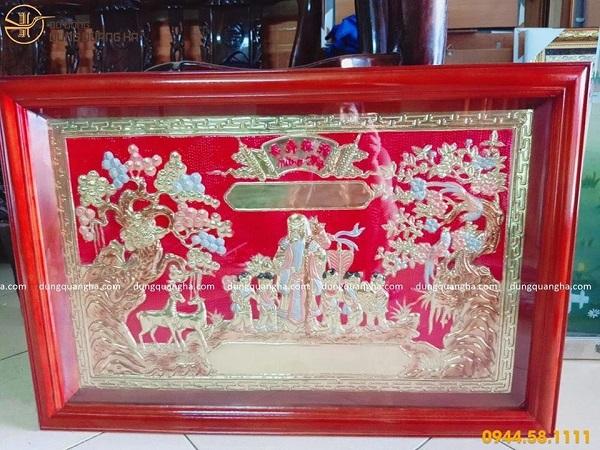 Mua tranh mừng thọ ở Hà Nội