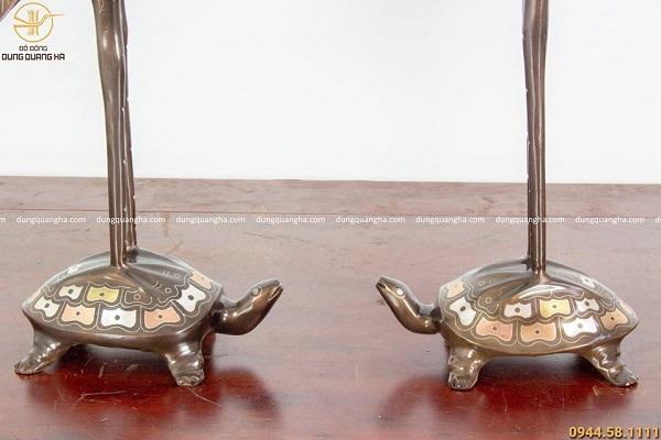 Bộ ngũ sự khảm tam khí đỉnh cao 50cm chạm sòi chữ Hán