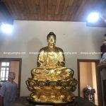 Tôn tượng, dát vàng 9999 tượng Phật cho chùa tại Bình Định
