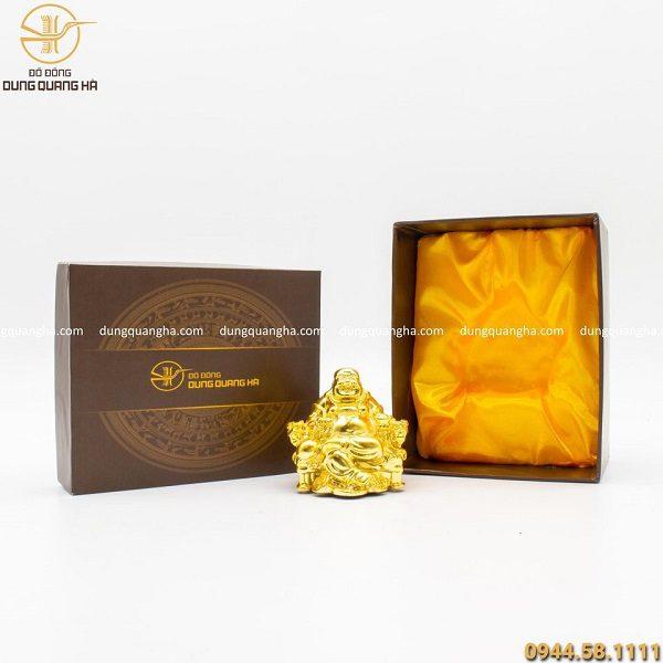 Hộp quà tượng Phật Di Lặc mạ vàng 24k tinh xảo, ý nghĩa