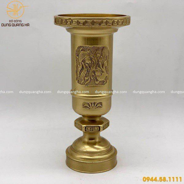 Ống hương bằng đồng có nhiều ưu diểm vượt trội so với các loại ống hương khác