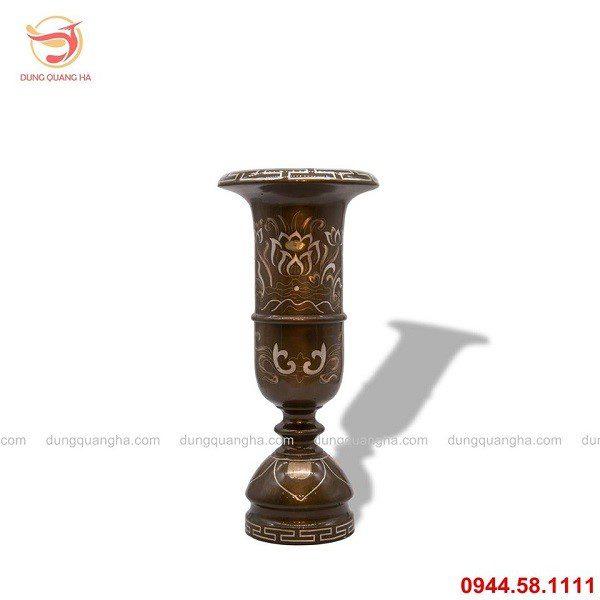 Ống hương bằng đồng còn mang tài lộc, vận khí tốt lành cho gia chủ