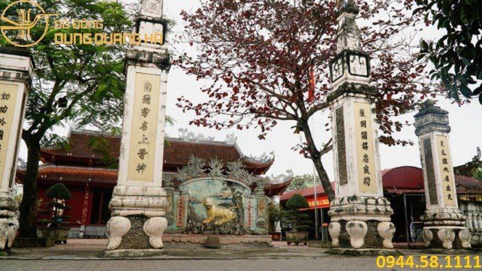 Đền thờ ông Hoàng Mười ở Hà Tĩnh