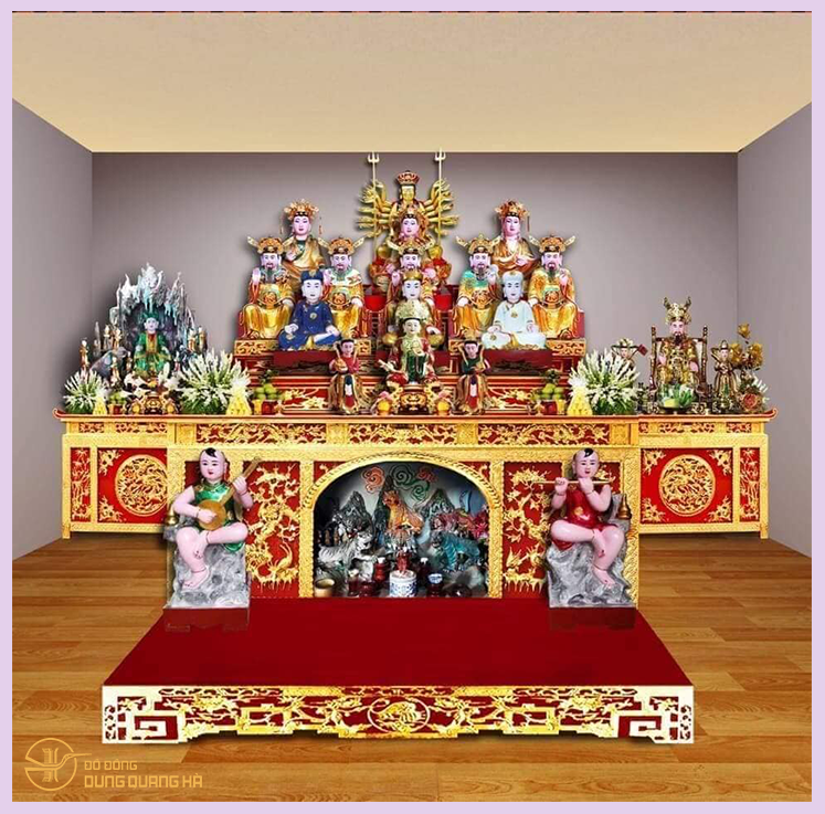 Điện thờ của người có căn
