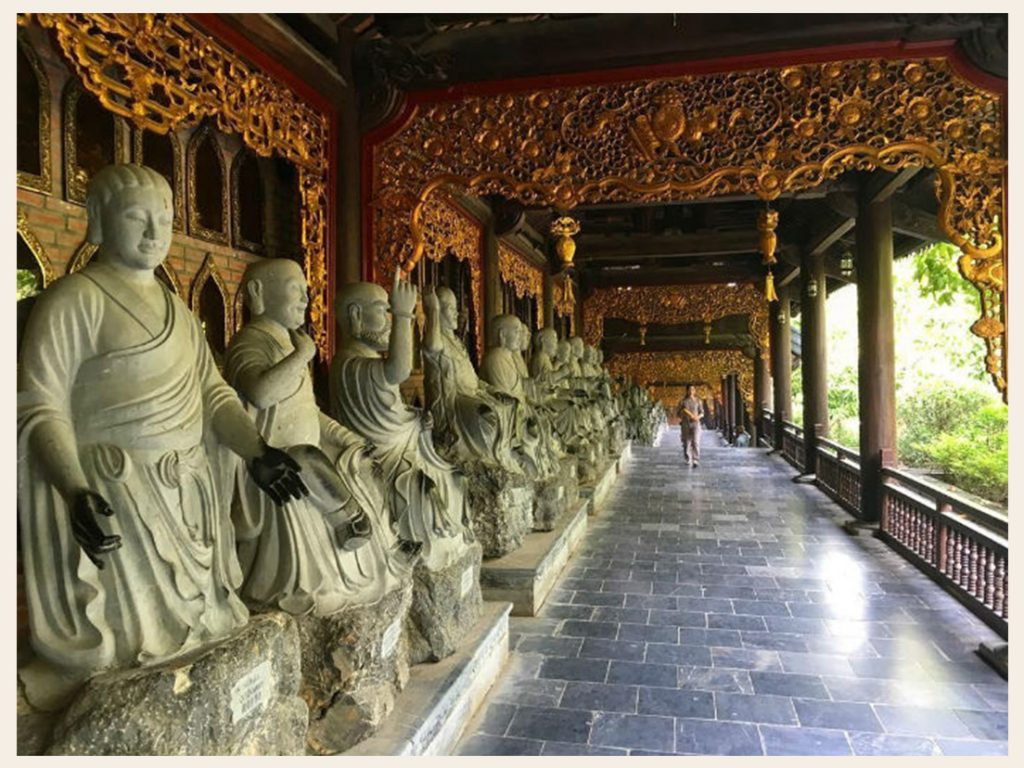 Nhà hành lang chùa Bái Đính