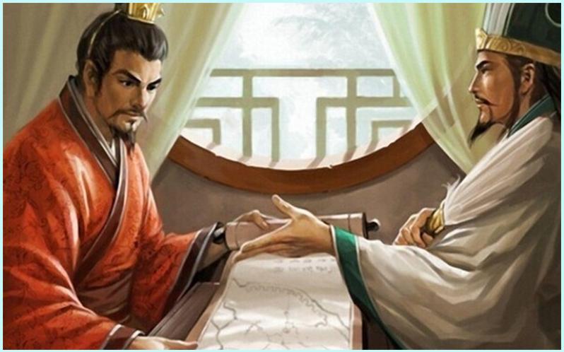 Gia Cát Lượng và Lưu Bị