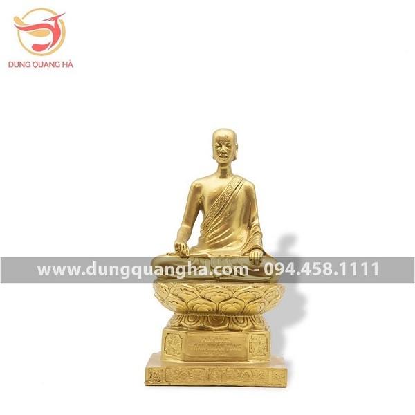 Hình tượng vị vua- nhà tu hành sáng lập Thiền phái Trúc Lâm.