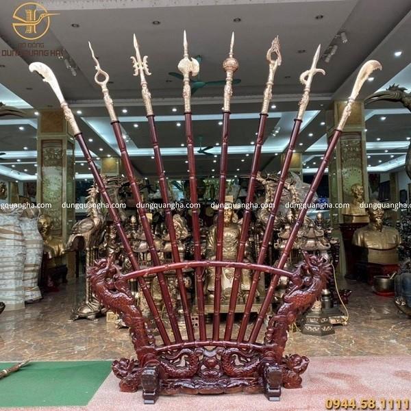 Đồ đồng Dung Quang Hà là địa chỉ bán bộ bát bửu uy tín, chất lượng