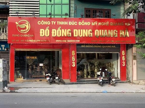 Dung Quang Hà là địa chỉ cung cấp đĩa đồng lưu niệm uy tín tại Hà Nội