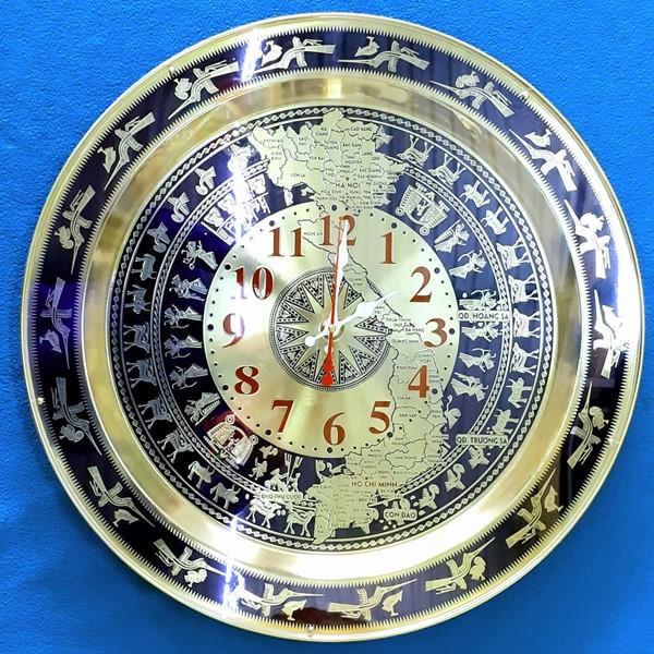Họa tiết tiêu biểu trên đồng hồ mặt trống đồng
