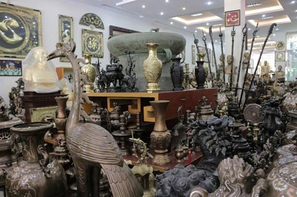 Tống Xá không phải cơ sở sản xuất truyền thống của làng nghề đúc đồng Ý Yên Nam Định mà là Vạn Điểm