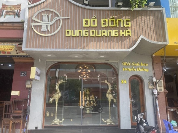 Mua  đồ thờ cúng ở đâu rẻ không thể không kể đến cơ sở đồ đồng Dung Quang Hà
