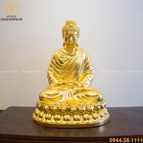 Tượng Phật Thích Ca Mâu Ni hiền từ, dùng cả cuộc đời để phổ độ chúng sinh