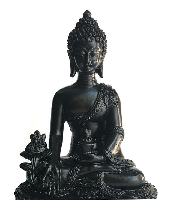 Nên thờ tượng Phật nào trong nhà? Tượng Phật Dược Sư đen tuyền huyền bí là lựa chọn của nhiều gia chủ