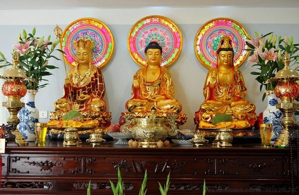 Thỉnh tượng Phật về thờ tại gia rất quan trọng gia chủ cần lưu ý thực hiện đúng
