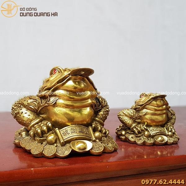 Đồ đồng Dung Quang Hà là địa chỉ mua thiềm thừ đẹp, chất lượng