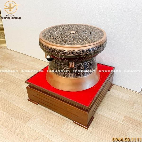 Trống đồng là một trong những biểu tượng văn hóa thiêng liêng của dân tộc