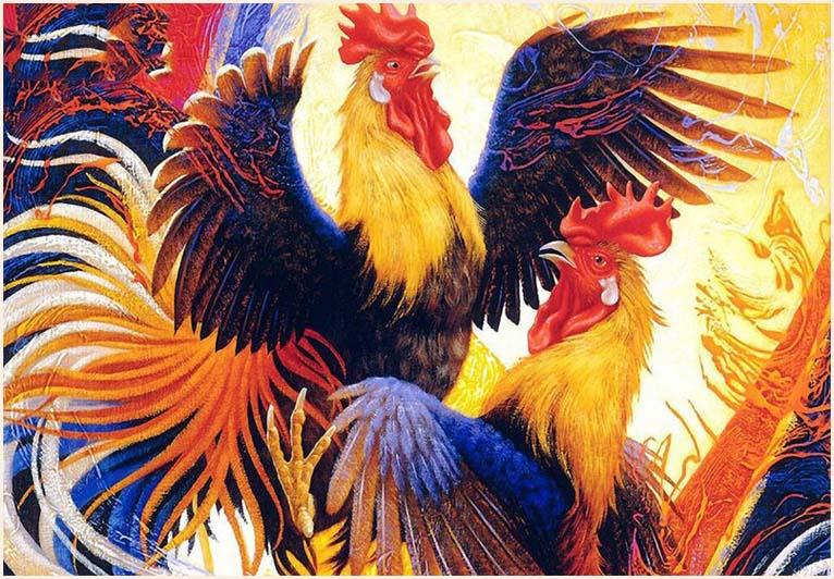 Hình tượng gà trống có vai trò quan trọng trong văn hóa phương Đông