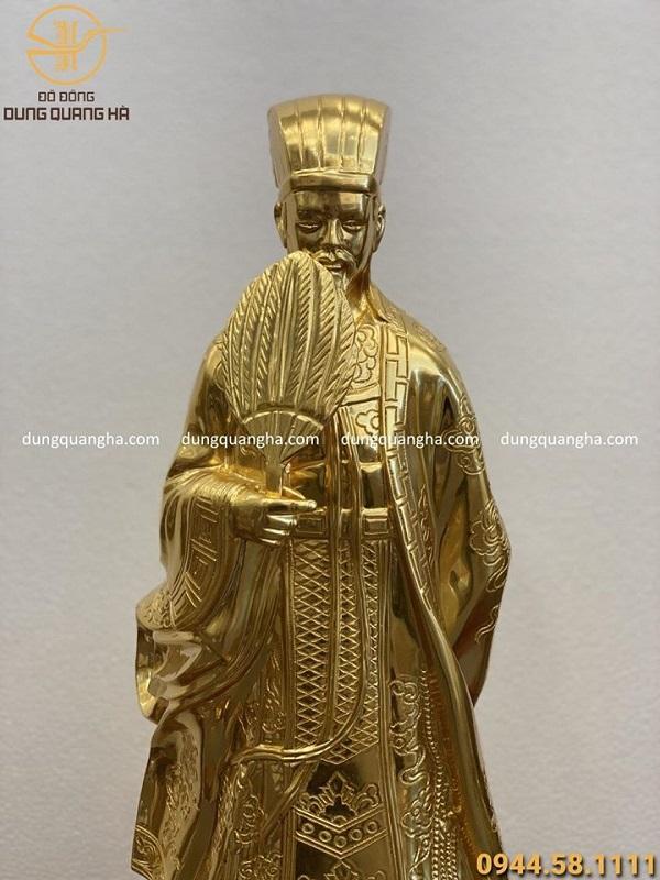 Tượng danh nhân bằng đồng mạ vàng