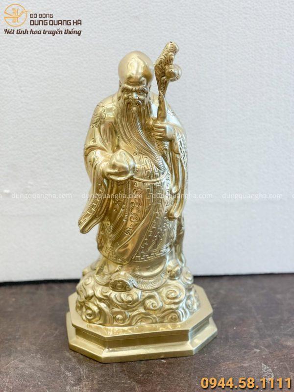 tượng ông thọ bằng đồng cattut