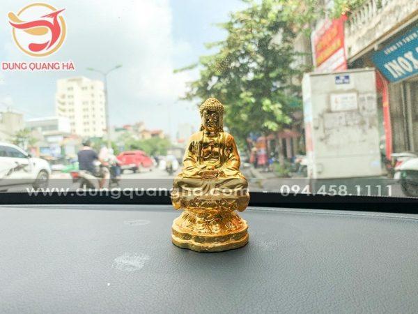 Tượng Phật A Di Đà mạ vàng