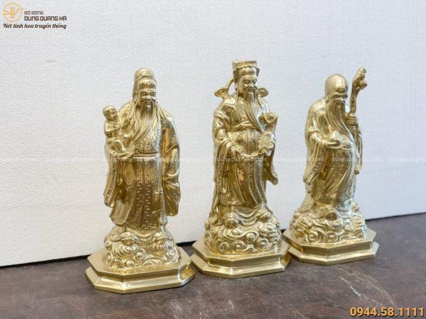 tượng tam đa bằng đồng cattut cao 36