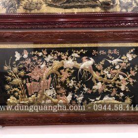 Bức tranh đồng Hoa Khai Phú Quý nghĩa là gì?