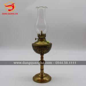 Đèn thờ bằng đồng, mẫu đèn Thái Cực bằng đồng làm màu ấn tượng