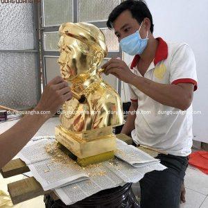 Dịch vụ dát vàng tượng đồng các loại uy tín chuyên nghiệp